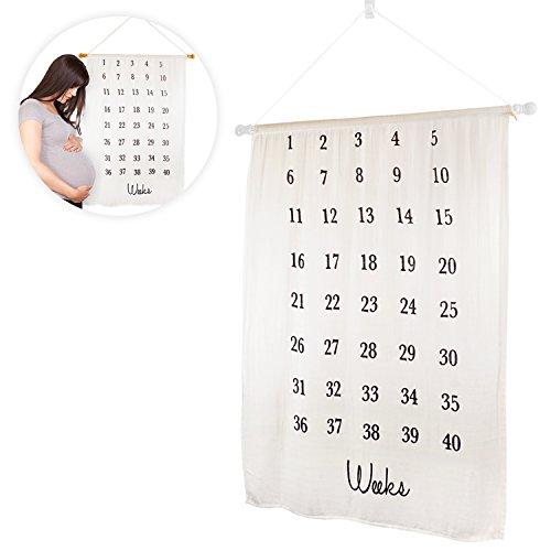 Pregnancy Milestone Blanket - Maternity Photo Backdrop For Creating Keepsake Baby Bump Photos