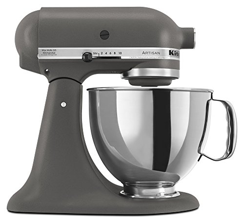 KitchenAid KSM150PSGR Artisan Series 5-Qt. Stand Mixer with Pouring Shield - Imperial ()