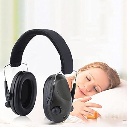 Verde Slimline electrónico impacto deporte caza táctico orejeras de protección auditiva Ear defensores verde Slimline electrónico