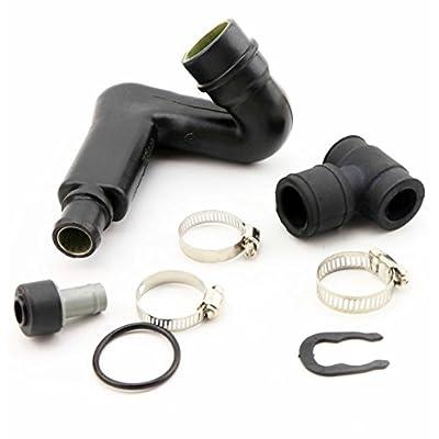 QKPARTS Crankcase Breather Valve Vent Hose Tube Kit PCV For VW Passat B5 AUDI A4 A6 1.8T: Automotive