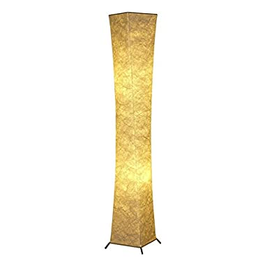 Soft Light Floor Lamp Saleting Modern Design Fabric LED Floor Lamp for Living Room - 52 inch Tall Lamp