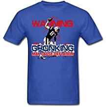Spreadshirt Rob Gronkowski Warning Deflation Deflategate Men's T-Shirt