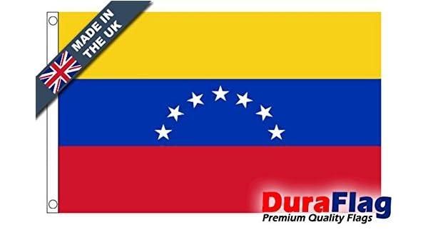 Durable aflag® Venezuela 7 estrellas Vieja Super Calidad Bandera: Amazon.es: Jardín