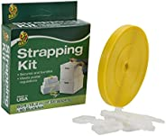 Duck Brand Strapping Kit, Includes 60 Feet of Strapping and 10 Buckles (280789)