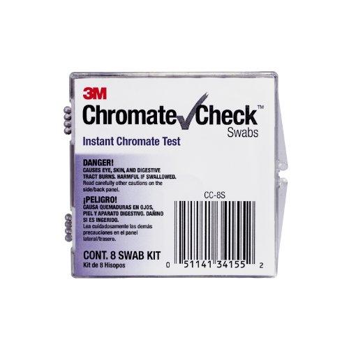 3M ChromateCheck Swabs, 8-Swab ()
