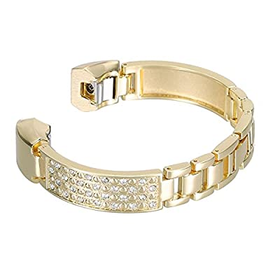"bayite Jewelry Bangle For Fitbit Alta, Adjustable Bracelet, 5.5"" - 7.2"""