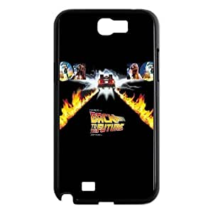 Back To The Future Samsung Galaxy N2 7100 Cell Phone Case Black wly gyvc