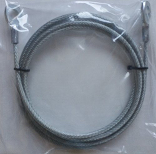 Total Gym Replacement Strong Steel Cable for Models 2000, 3000, and (Xls Model)