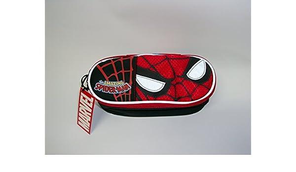 Estuche ovalado Organizzato Spiderman Marvel: Amazon.es: Oficina y papelería