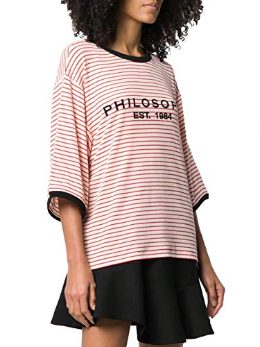 Rosso Philosophy A071307231111 T shirt Donna Cotone xwzqARXz