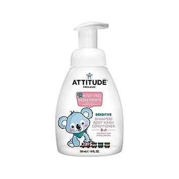Haltung Kleinen 3 In 1 Shampoo Dusche Anlage Pumpe Ohne Duft 295Ml - Packung mit 4