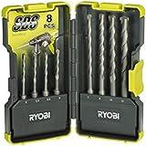 Ryobi SDS-plus Hammerbohrerbox 8-teilig  RAK08SDS, 5132002262