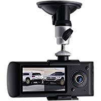 Doal Dash Camera Car DVR X3000 R300 with 2.7 GPS Car DVRs Car Camera DVR Video Recorder Dash Cam Dashboard Portable Recorder