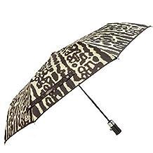 Coach Peyton Ocelot Print Umbrella Natural Multi F62450