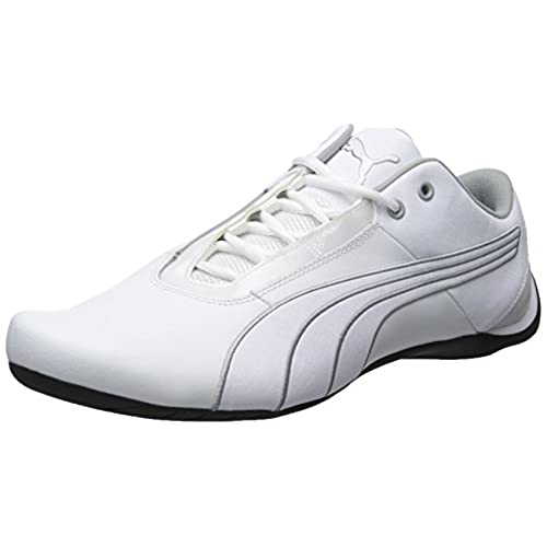 PUMA Men's Future Cat S1 NM Fashion Sneakers, White/White/Quarry, 8 D US