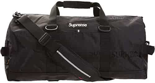 Oyoco Backpack Fashion Supreme Backpack Casual Daypacks For Men/Women (black duffle bag)