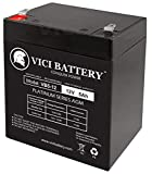 VICI Battery 12V 5AH SLA Battery Replacement for Razor PowerRider 360 Electric Tricycle Brand Product