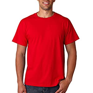 Fruit of the Loom 5 Oz, 100% Heavy Cotton HD T-Shirt, Medium, True Red