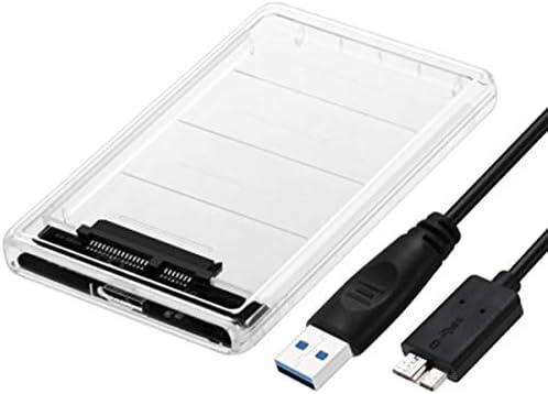 Wallfire Caja de Caja de Disco de Disco Duro SATA HDD/SSD de 2.5 ...