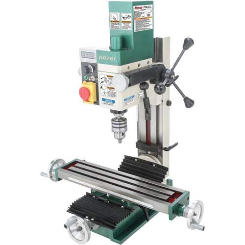 Grizzly G0781 3/4 hp Mill/Drill, 4 x 18