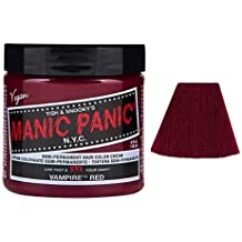 Manic Panic Amplified Hair Color, Vampire Red, 4 oz
