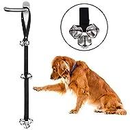 Axgo Dog Doorbell, Adjustable Toilet Training Bells Potty Bells for House Training