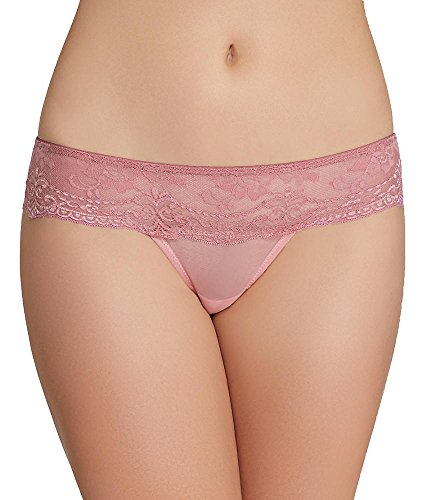 The Little Bra Company Lucia Thong, M, Light Dusty Rose