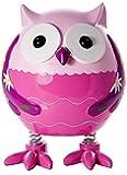 Tirelire hibou chouette rose pour filles cadeau