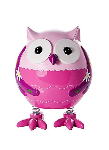 Mousehouse Gifts Tirelire Hibou Chouette Rose pour Filles Cadeau product image