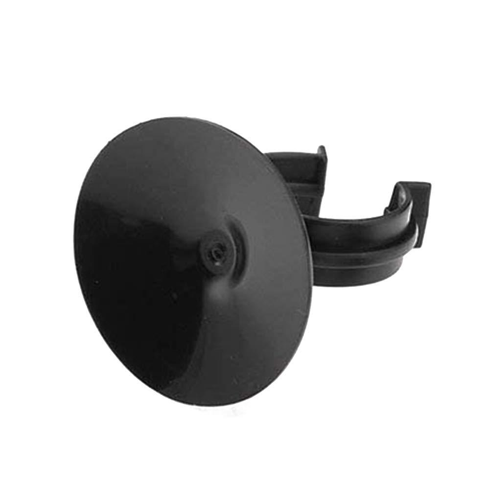 10Pcs Aquarium Suction Cup Clips 38 mm Dia Tube Holder Clamps Fish Tank Accessories - Black CDKJ