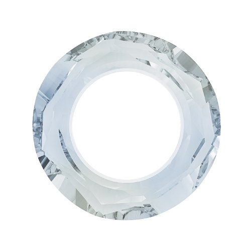 Swarovski Crystal, 4139 Cosmic Ring Pendant 14mm, 1 Piece, Crystal Blue (4139 Cosmic Ring Pendant)