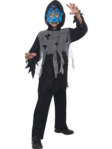 Children's Halloween Vampire Instant Kit With Mask Robe