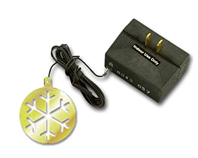 Westek 6043C 200W 3-Level Holiday Ornament Touch Dimmer, Brass/Black