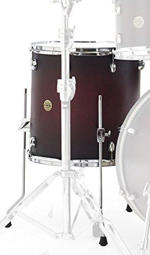 Gretsch Drums Catalina Maple CM1-1414FSDCB Drum Set Floor Tom, Satin Deep Cherry Burst -