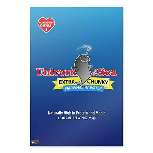 Narwhal Unicorn of the Sea Home Business Office Sign - Poste