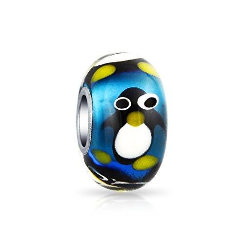Sterling Silver Penguin Charm - 8