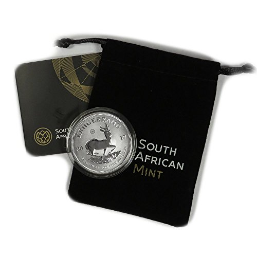 2017 ZA South African Silver Krugerrand 1 oz R1 Premium Uncirculated South African Mint ()
