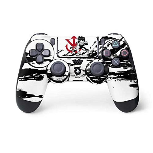 Skinit Vegeta Wasteland PS4 Controller Skin - Officially Licensed Dragon Ball Z Gaming Decal - Ultra Thin, Lightweight Vinyl Decal Protection