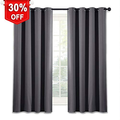 NICETOWN Blackout Window Curtain for Bedroom -  Home