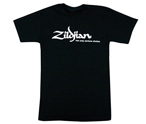 ZILDJIAN Classic Black Drums T-shirt Schwarz Größe XXL