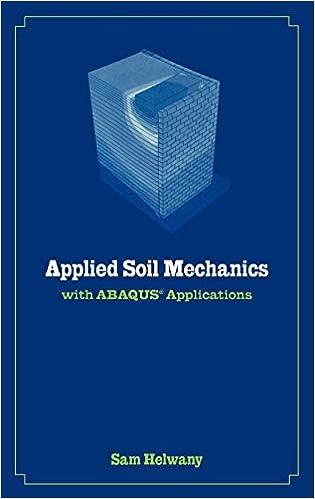 Applied Soil Mechanics with ABAQUS Applications: Amazon.de: Helwany, Sam: Fremdsprachige Bücher