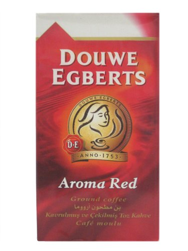 Douwe Egberts Aroma Red Ground Coffee, 17.6-Ounce Packages (Pack of 3) (Cafe Egberts Douwe)