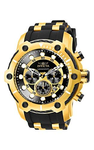 - Invicta Men's 26751 Bolt Quartz Chronograph Black Dial Watch