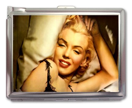 Marilyn Monroe Cigarette Case Lighter or Wallet Business Card Holder (Valve Wallet Card compare prices)