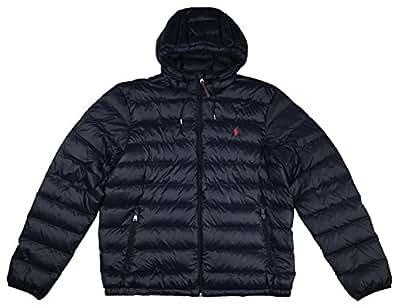 Amazon.com: Polo Ralph Lauren Mens Full Zip Hooded Puffer ...