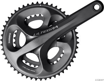 Shimano Ultegra FC-6750 10-speed Road Bicycle Compact Double Crank Set (50/34, 170mm)