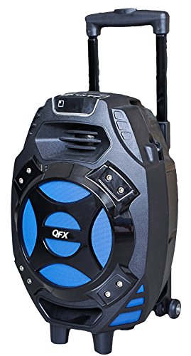 QFX PBX-61081BT/BL Portable Bluetooth Party Speaker