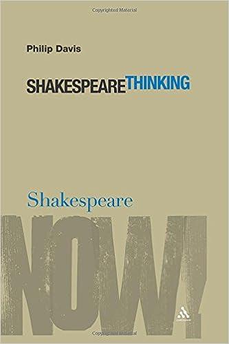 Resultado de imagem para Shakespeare Thinking book