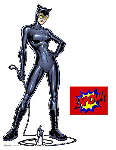Catwoman with Whip Official DC Comics Lifesize Cardboard Cutout, 179cm x 96cm Includes Mini Cutout and 8x10 Photo