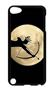 Ipod 5 Case,MOKSHOP Awesome full moon hd 1 Hard Case Protective Shell Cell Phone Cover For Ipod 5 - PC Black